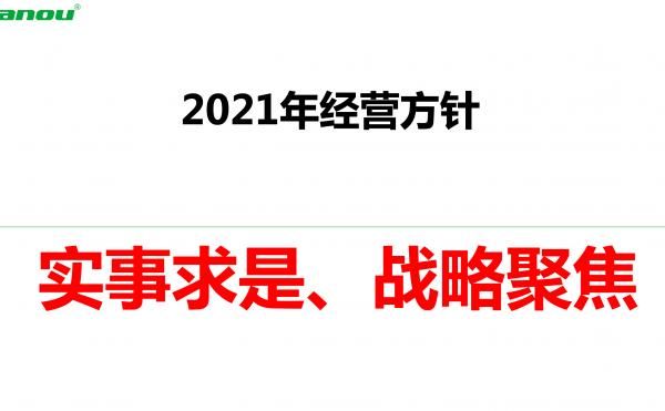 【吕华说:2021财年经营方针发表,实事求是,战略聚焦】